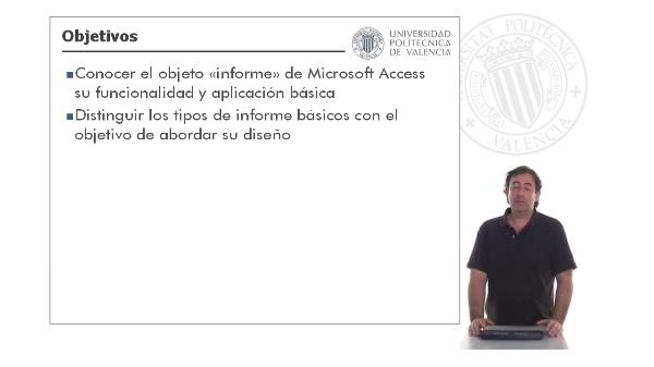 Microsoft Access - Diseño informes: Introducción
