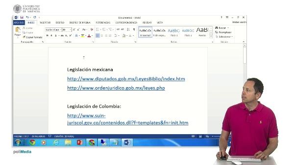 Busqueda de legislacion en paises latinoamericanos