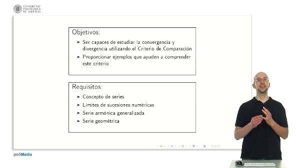 Series Numéricas: Criterio de comparación