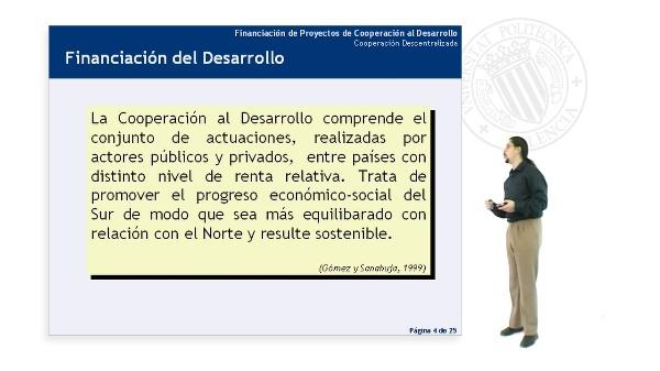 Cooperación Descentralizada (I)