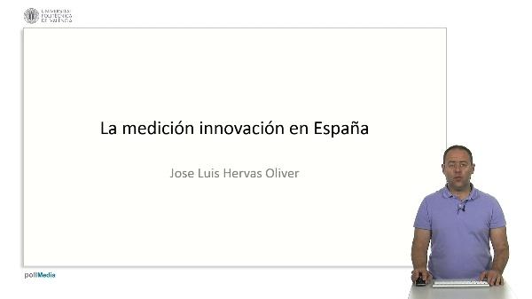 La medición innovación en España