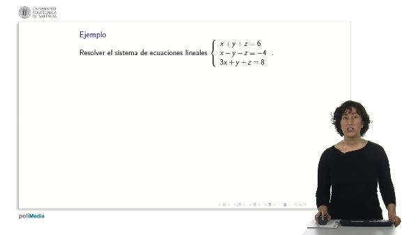 Ejemplos de sistemas lineales