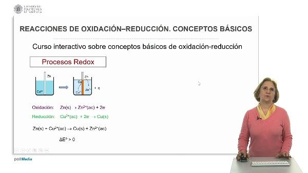 Presentación del mooc reacciones de oxidación-reducción conceptos básicos.