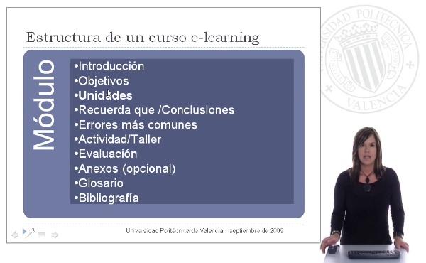 Cómo crear un módulo en un curso de e-learning