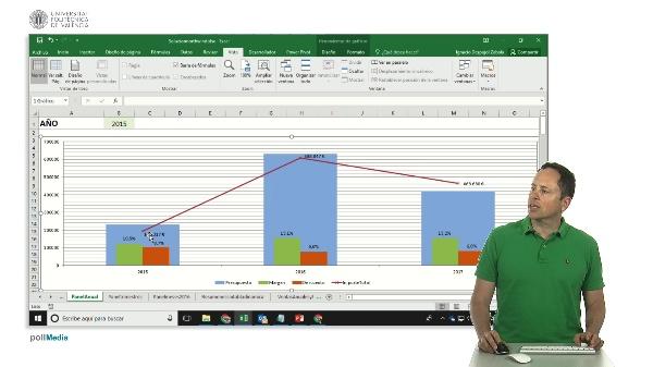 Excel. Paneles de información. Gráficos