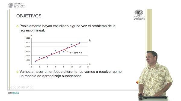La Regresión Lineal, un ejemplo de modelo de aprendizaje