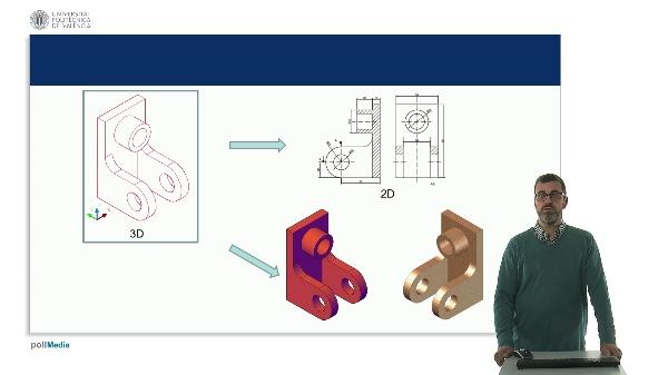 AutoCAD 2019. Iniciación al entorno del diseño 3D. Punto de vista, estilos visuales, y navegación 3D.