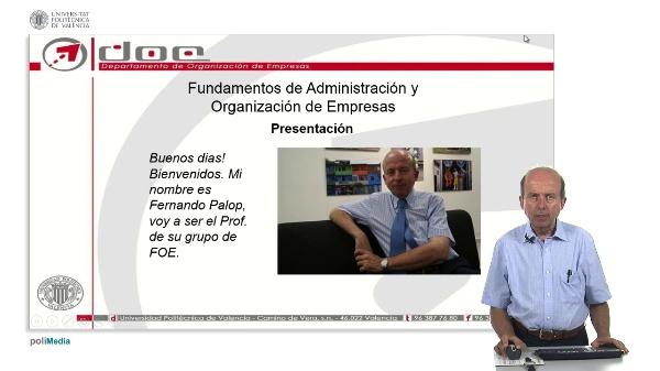 Introduccion Fundamentos de Administracion y Organizacion de Empresa