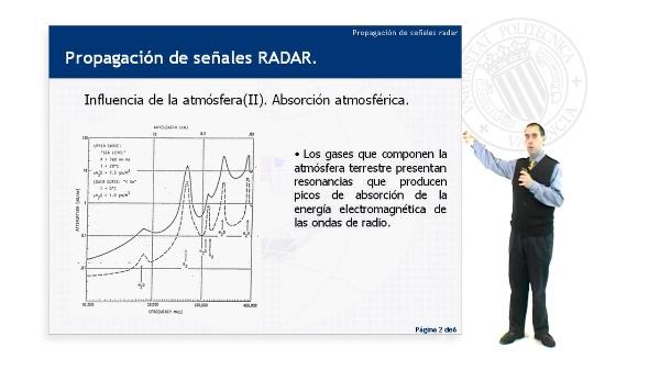 Propagación de señales Radar