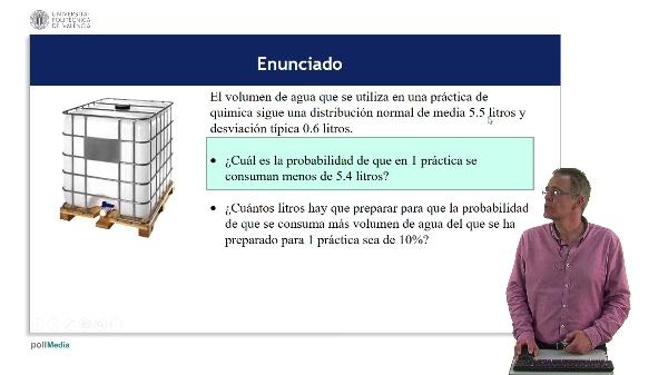 Ejemplo de distribución Normal: Hoja de cálculo y tablas