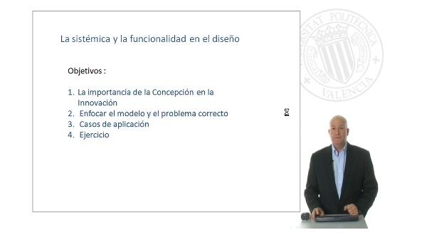 Funcionalidad y sistémica para el diseño conceptual: Sistémica