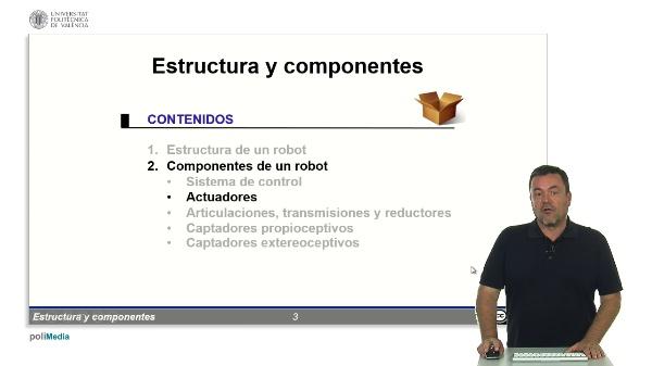 Robótica: componentes - Actuadores