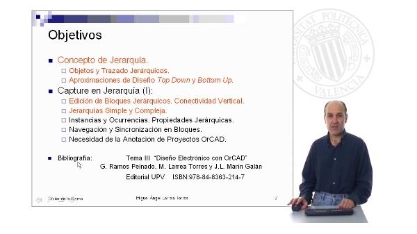 Prontuario de OrCAD. Capture: Jerarquía de Bloques. Parte II