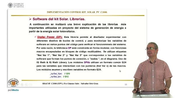 Implementacion Control Kit Solar PV c2000. Software (parte 2)