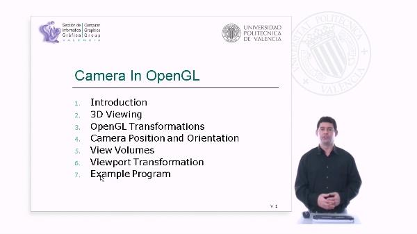 Camera in OpenGL