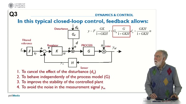 Control Systems Design. Answer 3