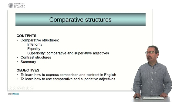 Technical English - Expressing comparison and contrast