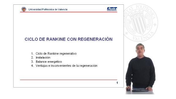 Ciclo de Rankine con regeneración