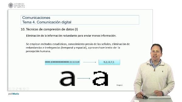 Introducción a las radiocomunicaciones. Técnicas de compresión de datos