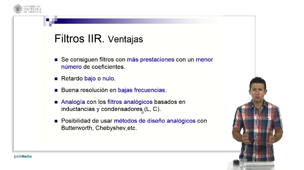 Ventajas e inconvenientes de los filtros IIR