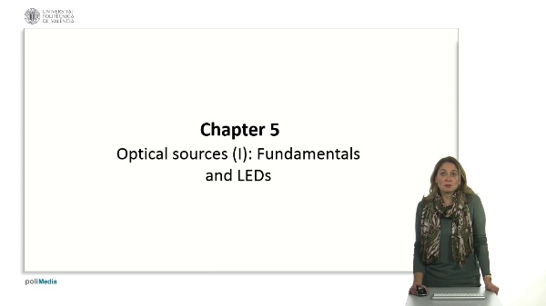 Optical sources (I): Fundamentals and LEDs