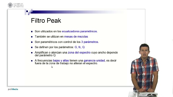 Filtro de Peak