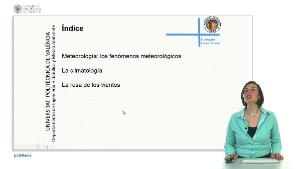 La meteorología en el contexto de los estudios de contaminación atmosférica.