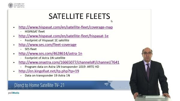 Direct to Home Satellite TV. Case Study (V)