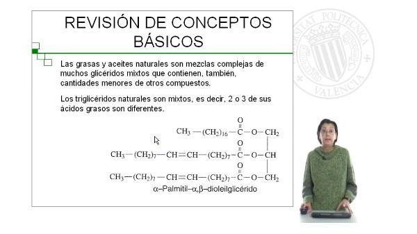 Aceites y Grasas: Determinación de la composición
