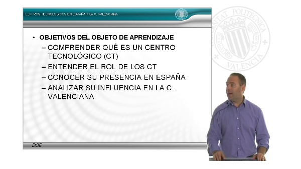 Los institutos tecnológicos de la Comunidad Valenciana