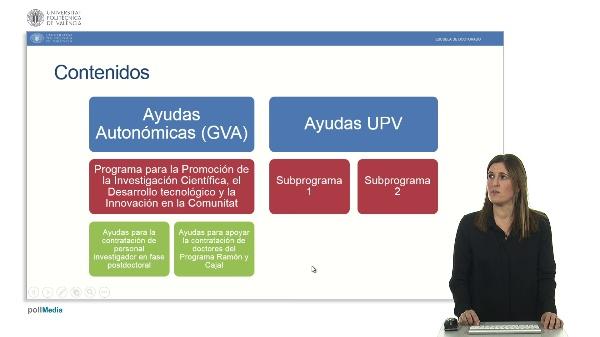 Ayudas postdoctorales GVA y UPV