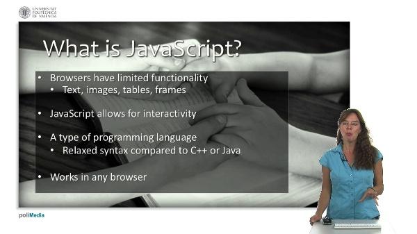 Web Technologies and Development: Javascript