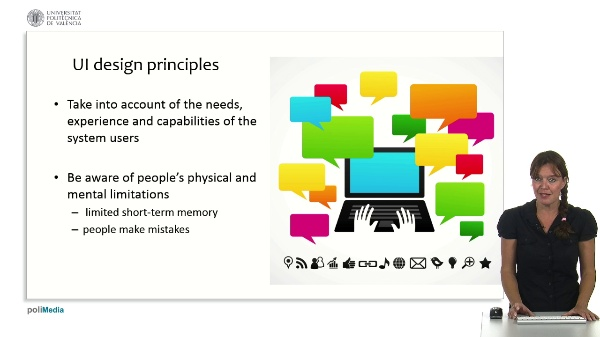 Information Processing and User Interfaces: User Interface Design Principles