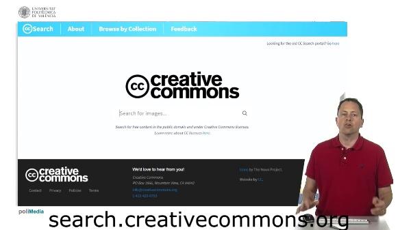 Búsqueda de imágenes creative commons