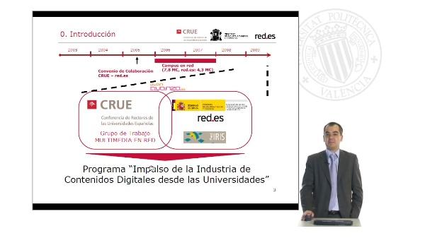 Red.es: Impulso de la Industria de Contenidos Digitales desde las Universidades