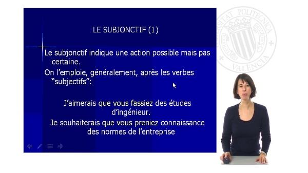 Le Subjonctif (I)