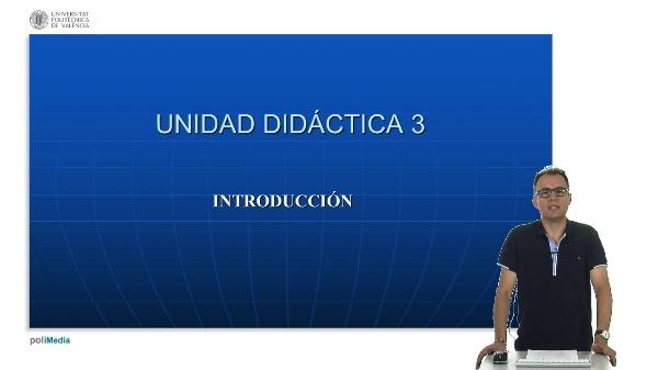 Unidad didactica 3 de la asignatura Derecho Constitucional. Introduccion