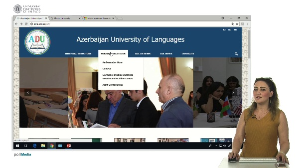 Introduction of the Azerbaijan University of Languages