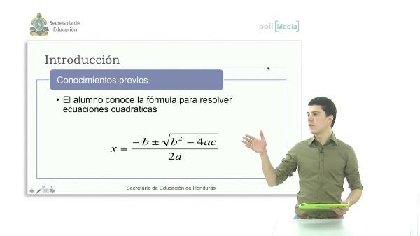 Aplicación de las ecuaciones cuadráticas