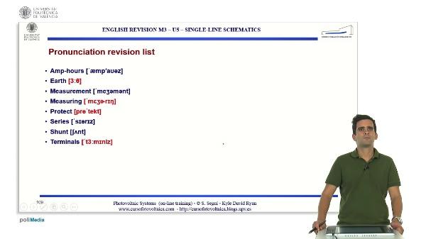 M3.U5.7. Single-line schematics. English Grammar / spelling revision