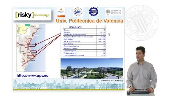 Presentation RISKY-UPv