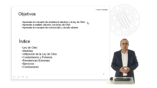 Ley de Ohm. Resistencia electrica.