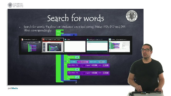 Programming example: Search for words