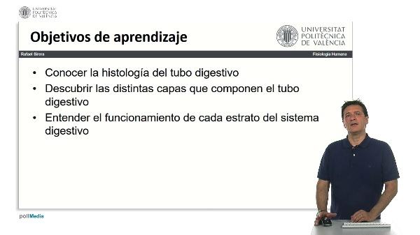 Histología del tubo digestivo