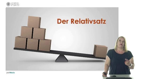 Lektion 4, Der Relativsatz