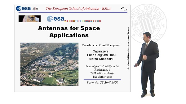 Antennas for Space Applications Course