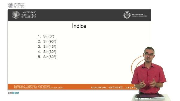 Cálculo de la función senoidal