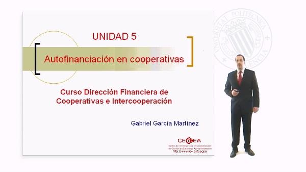 Autofinanciación en Cooperativas