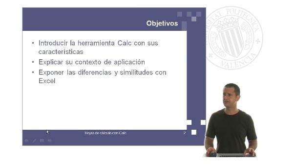 Calc: hojas de cálculo con software libre: Introducción