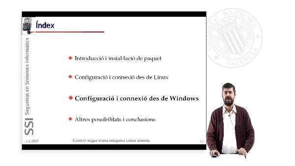 Control segur d''una màquina Linux remota (3 de 4)